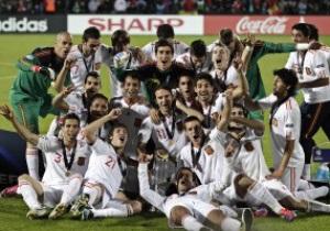 Фотогалерея: Победная наследственность. Молодежная сборная Испании выиграла Чемпионат Европы