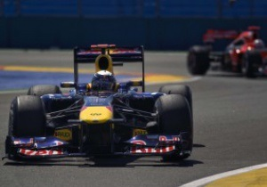 Феттель завоевывает поул на Гран-при Европы