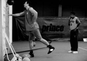 Фотогалерея: Финальные приготовления. Кличко заканчивает подготовку к бою с Хэем