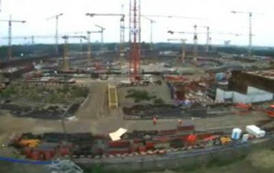 Два года за минуту. Строительство стадиона в Варшаве