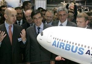 Ле Бурже-2011: Airbus получил заказы на поставку сотен самолетов
