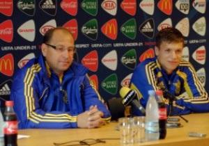 Евро-2011: Коноплянка объяснил слабую игру Украины силой соперников
