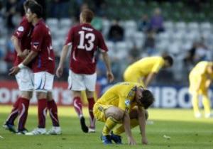 Фотогалерея: Холодный душ. Украинцы в стартовом матче Евро-2011 уступили чехам