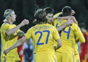 С Уругваем украинцы сыграют в Донецке