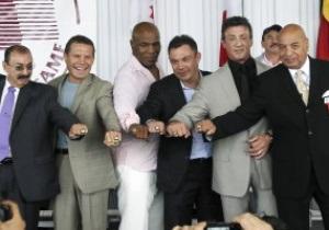 Сталлоне, Тайсон, Цзю и Чавес введены в зал боксерской славы