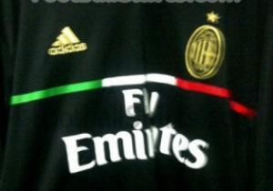 Черно-золотые. В интернет просочились фото новой формы Милана
