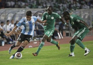 Нигерия и Аргентина проведут еще один спарринг