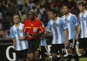 FIFA оправдала действия арбитра матча Нигерия - Аргентина