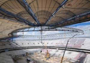 Варшавский стадион, на котором состоится первый матч Евро-2012, откроют в октябре