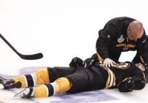 Форвард Бостона из-за тяжелого сотрясения мозга пропустит оставшиеся матчи финала Stanley Cup