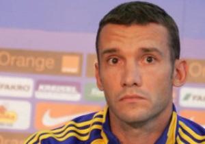Шевченко не сыграет с Францией