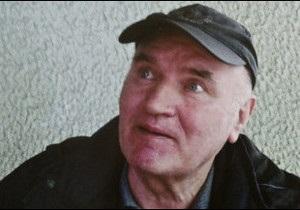Ратко Младич постав перед міжнародним судом