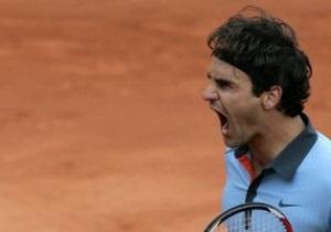 Федерер сразится с Джоковичем в полуфинале Roland Garros