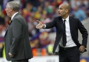 Фергюсон: Сегодняшняя Барселона - это лучшая команда, с которой нам приходилось играть