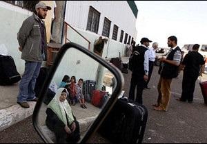 Єгипет полегшив палестинцям перетин кордону