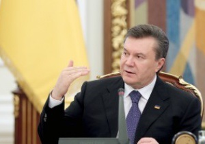Янукович поздравил Шахтер с победой над Динамо