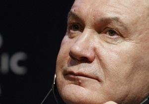 Янукович исключил слияние Нафтогаза и Газпрома