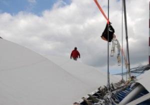 Монтаж мембраны на крыше НСК Олимпийский начнется 1 июня