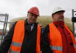 В Гданьске не успевают подготовить стадион к матчу Польша - Франция