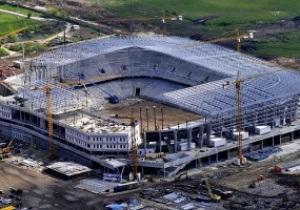 Вместительность стадиона к Евро-2012 во Львове уменьшена на тысячу мест
