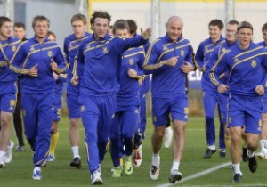 Сборная Украины будет готовиться к Евро-2012 за границей