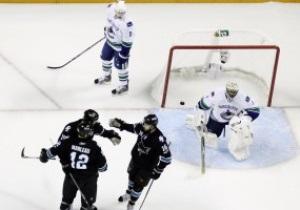 Stanley Cup: Сан-Хосе сократил отставание в серии с Ванкувером