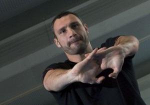 Виталий Кличко: Бой с Адамеком не станет легкой прогулкой для меня