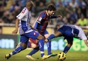Примера: Реал побеждает Вильярреал, а Барселона дарит ничью Депортиво