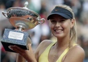 Шарапова выиграла турнир в Риме