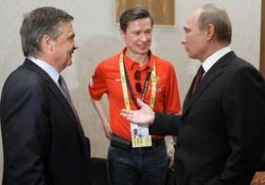 Путин отказался от посещения матчей сборной России по хоккею