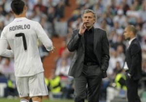 UEFA дисквалифицировал Моуриньо на пять матчей