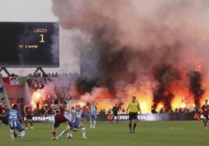 Финал Кубка Польши закончился масштабными беспорядками