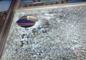 Под Киевом автобус с болельщиками Шахтера забросали камнями