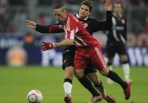 Бундеслига: Байер сокращает отрыв от Боруссии, Бавария играет вничью с Айнтрахтом