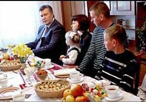 Янукович працює   як фермер