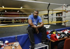 Хэй повесит в своем тренировочном зале портрет Кличко