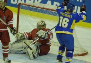 Хоккей: Украинцы громят поляков