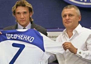 Суркис: Не думаю, что Шевченко завершит карьеру не в Динамо