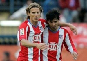 Атлетико не намерено продавать Форлана и Агуэро в Реал