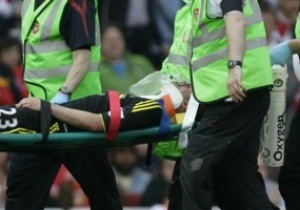 Защитник Ливерпуля сломал челюсть в матче с Арсеналом