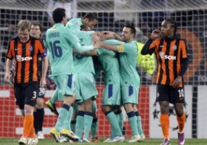 Фотогалерея: Домашнє покарання. Барселона вибила Шахтар з Ліги Чемпіонів