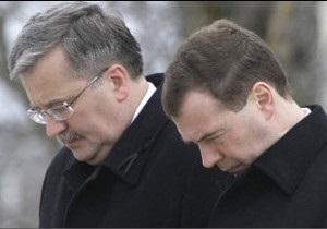 Росія і Польща разом вшанують Леха Качинського