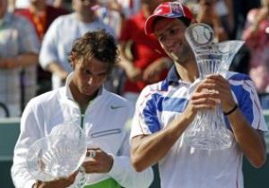 Майами АТР: Джокович в финале победил Надаля