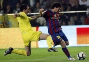 Примера: Барселона выгрызает победу у Вильярреала