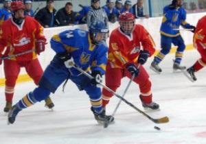 Юниорский ЧМ по хоккею: Украинцы не замечают Китай