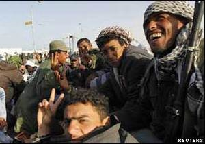 Повстанці в Лівії   захопили   місто Каддафі