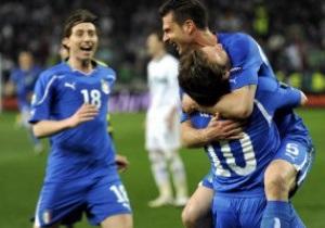 Италия сыграет с Украиной комбинированным составом