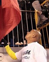 Українська служба Бі-бі-сі: Чи поборе російський футбол расизм фанів?