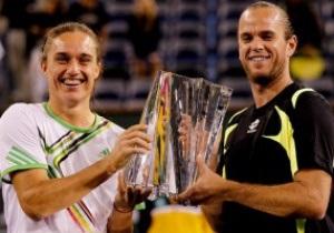 Украинец Александр Долгополов выиграл парный турнир в Индиан-Уэллсе