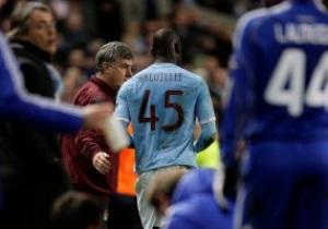 Балотелли извинился за свое глупое удаление в матче с Динамо